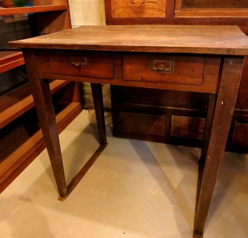 引き出し付き 小振り テーブル 机